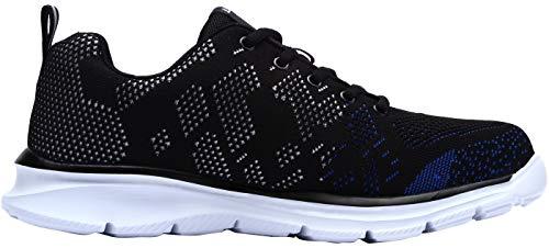 sneaker Uomo Acciaio Larnmern Nero Scarpe Ed Lavoro lm 123 Eleganti In Antinfortunistiche Da Blu Leggere Punta Con ESFYzqS