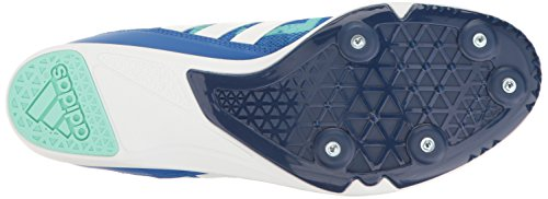 Adidas Men's Distancestar Track Shoe Blue/White/Easy Green cheap outlet locations clearance authentic O67Cn