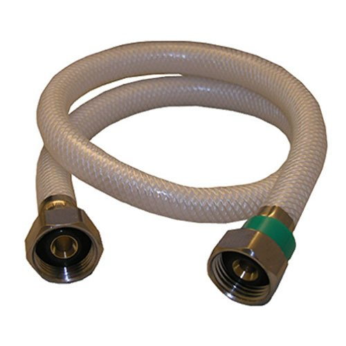 (LASCO 10-2425 1/2-Inch Female Iron Pipe by 1/2-Inch Female Iron Pipe by 24-Inch Flex Braided Vinyl Water Supply)