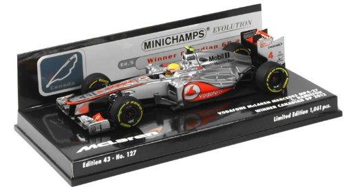 1/43 ボーダフォン マクラーレン メルセデス MP4-27 L.ハミルトン カナダGP ウィナー 2012 「ミニチャンプスシリーズ」 537124314