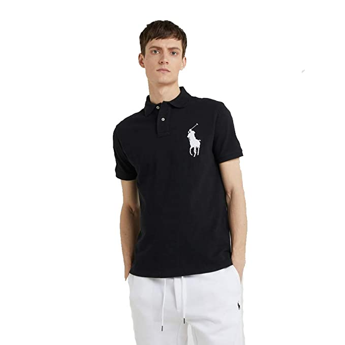 Ralph Lauren Polo para Hombre Big Pony Custom Fit: Amazon.es: Ropa ...