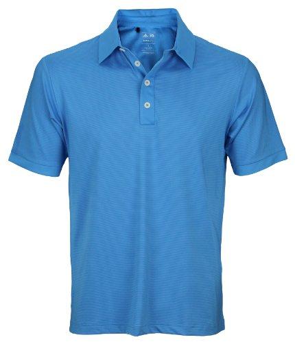 Adidas Taylormade Mens Athletic Polo Shirt (Medium, Oasis Blue)