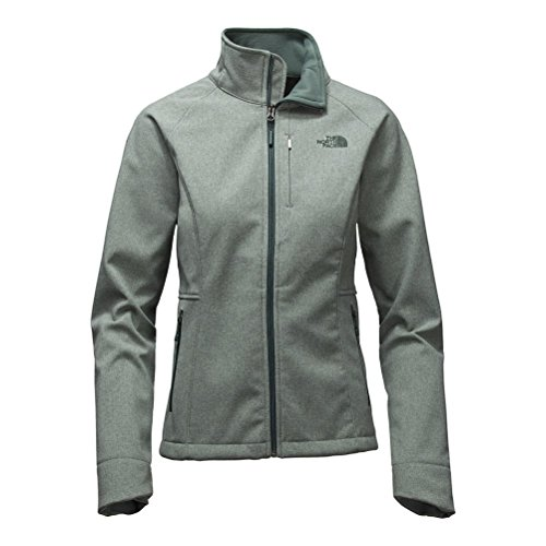 North Face Running Jacket (The North Face Apex Bionic 2 Womens Soft Shell Jacket - Large/Balsam Green Heather)