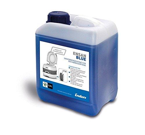 41X8hYqwlYL MH-Online Sanitärflüssigkeit für Campingtoilette Chemietoilette Blue 5 Liter Abwasser-Zusatz für den Camping Abwasser…