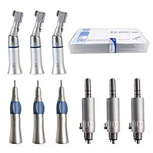 Air Power Drive EX-203 Suit Low Speed Hand Hold Tool with Two Type Tools Apply for 2 Holes by Dr. House