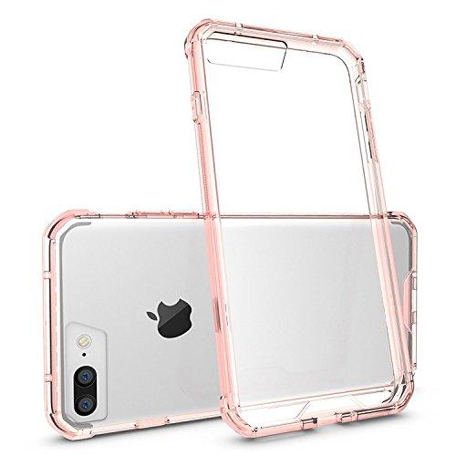 Apple iPhone 7 Plus 5.5 zoll 2016 Bumper case rosa Tasche Hülle - Zubehör Etui cover iPhone 7+ Dual SIM (pink) - XEPTIO accessoires