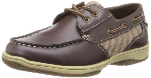 Deer Stags Jay Boat Shoe (Little Kid/Big Kid),Dark Brown,3.5 M US Big Kid