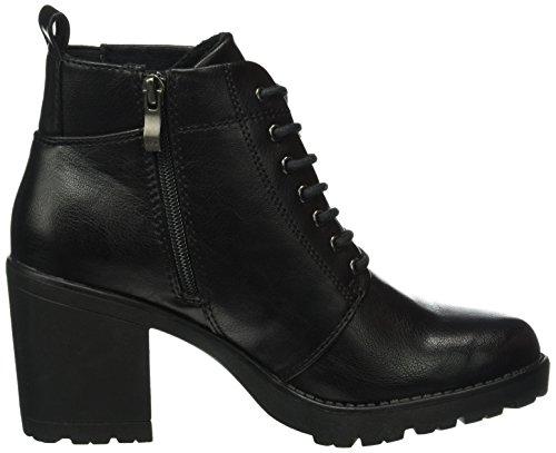 Marco Tozzi 25214, Botas Militar para Mujer Negro (BLACK NAPPA 022)