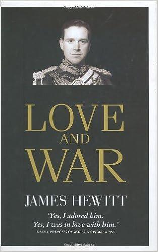 amazon love and war james hewitt england