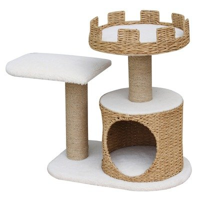 PetPal 3 Level Recycled Paper Made Cat Furniture, 31-Inch by 16-Inch by 27-Inch, My Pet Supplies
