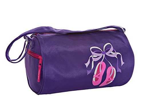 Horizon Dance 1301 Giggle Toes Ballet Duffel Bag for Young Dancers - Purple ()