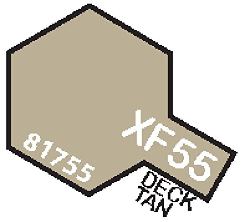 XF55 MIN Deck Tan - 10ml jar of Tamiya Color Mini Acrylic Paint