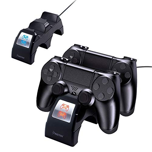 Insten Controller Charger For Sony PS4 w/LED Indicator+1x Mi