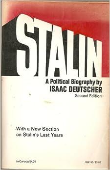 stalin a political biography by isaac deutscher pdf