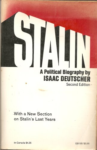 Stalin: A Political Biography (Galaxy Books)