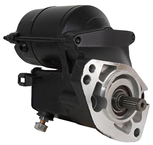 NEW 1.2KW BLACK STARTER MOTOR FITS HARLEY DAVIDSON FLHRS FLHRSEI FLHRSI 31553-94A by Rareelectrical