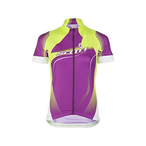SCOTT Bikewear Womens Rc Short Sleeve Zip Neck Cycling Jersey Shirt 221598-299700 (Medium)