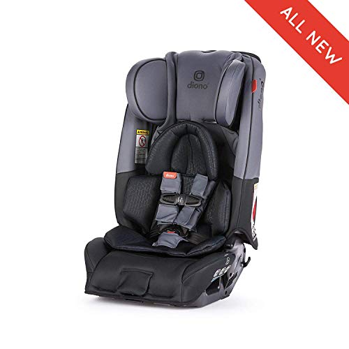 Diono Radian 3RXT All-in-One Convertible Car Seat, for Children from Birth to 120 pounds, Dark Grey