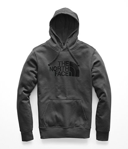 The North Face Men's Half Dome Pullover Hoodie - Asphalt Grey & TNF Black - XXL