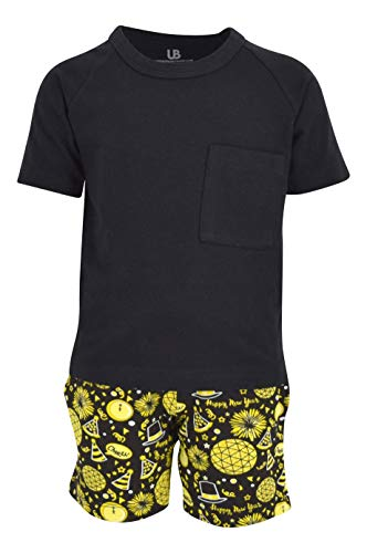 Unique Baby Boys New Years Eve 2 Piece Outfit Shirt Shorts