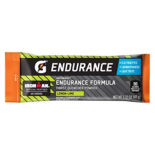 Gatorade Endurance Formula Powder Sticks, Lemon Lime, 1.72 oz. Packs, 12 - Formula Drink Endurance