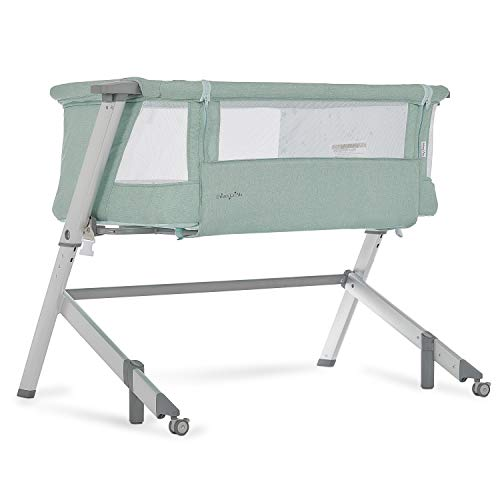Dream On Me, Skylar Bassinet Bedside Sleeper, Mint