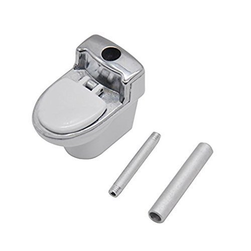 JC.V High Grade Quality Toilet Model Metal Pipes Weed