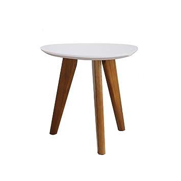Zijuan Table Basse Triangulaire Table D Appoint En Bois Massif Salon
