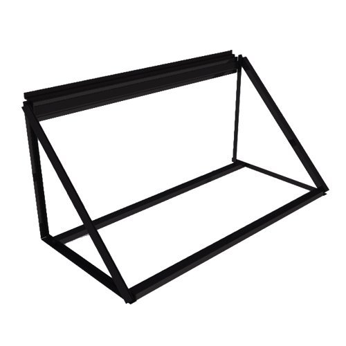 Proslat 10026 Steel Tire Storage Rack Wallmount, 48-Inch Wide by Proslat