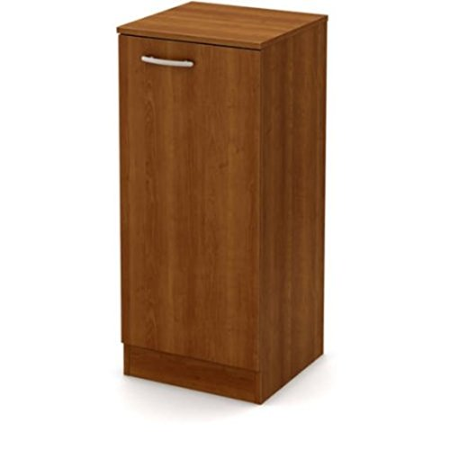 Narrow Spaces Maximizer Adjustable Shelf Storage Cabinet Pantry, Morgan Cherry by S0UTH Shore