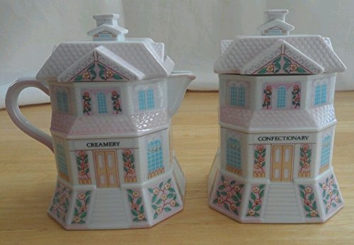Lenox Spice Village Sugar & Creamer Set