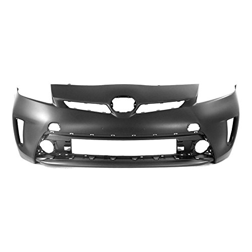 MBI AUTO - Painted to Match, Front Bumper Cover Fascia Replacement for 2012-2015 Toyota Prius 12-15, TO1000394 (Cover Bumper Replacement Front)
