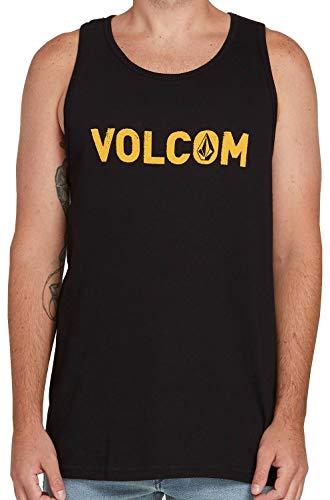 Volcom Men's Cement Tank Black Large (Volcom Tank Tops)