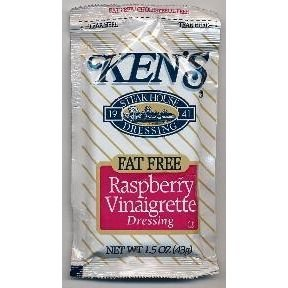 Kens® Fat Free Raspberry Vinaigrette Dressing (Case of 60) (Best Raspberry Vinaigrette Brand)