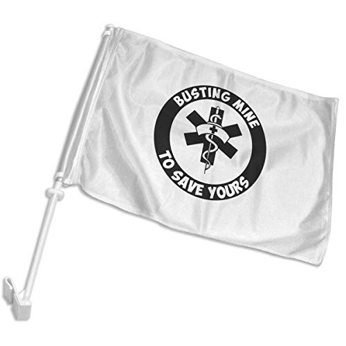Rn Nurse Rx Vinyl Car Window Flags Home Flags Yard Flags wit