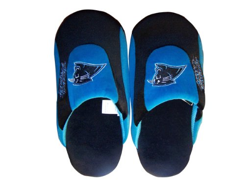 Happy Feet & Comfy Feet - OficialHombreste Con Licencia Para Hombre Y Mujer Nfl Low Pro Slippers Carolina Panthers Low Pro