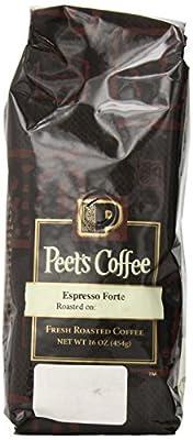 Peet's Coffee & Tea Espresso Forte Whole Bean Coffee, 1 Pound