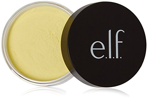 Swirl Sasha White - e.l.f. High Definition Loose Face Powder for a Flawless Soft Focus Finish to Your Makeup, Corrective Yellow, 0.28 Ounces