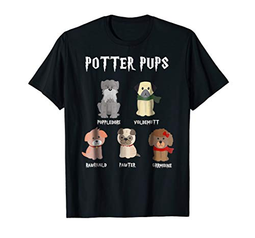 Potter Pups Harry Pawter Cute Puppy Dogs