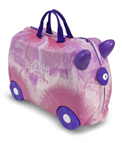 Melissa & Doug Trunki Swirl (Purple/Pink) (Bike Travel Suitcase)