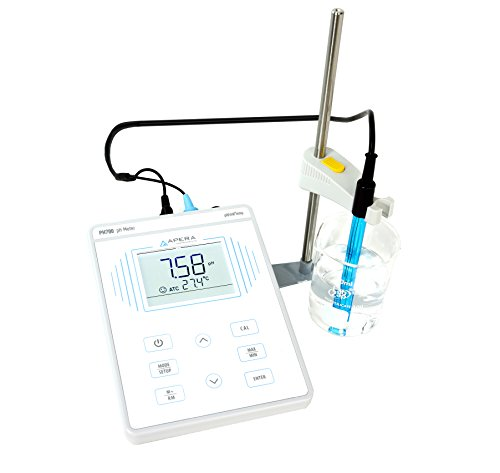 Apera Instruments PH700 Benchtop Lab pH Meter, 0.01 pH Accuracy, 1-3 Points Auto Calibration, 3-in-1 pH/Temp. Electrode by Apera Instruments, LLC