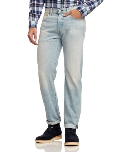 Levis Blu Brand Jeans Customized Uomo 501 marlon Tapered amp; rHw0nr7q