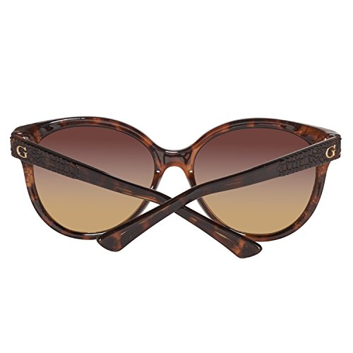 Havana Marrón Sonnenbrille GU7402 Dark Brown Gradient GUESS 6qBIS4wxw