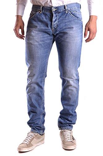 Dondup Homme MCBI100051O Bleu Coton Jeans