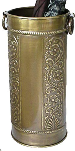 Umbrella Accents (Excellent Accents Solid Brass Umbrella Stand Scrollwork Design)