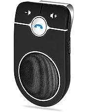 1CAwindwinevine Wireless 4.1 Hands-Free Car Charger Sun Visor Speakerphone Car Kit Receiver Speaker MP3 Music Player