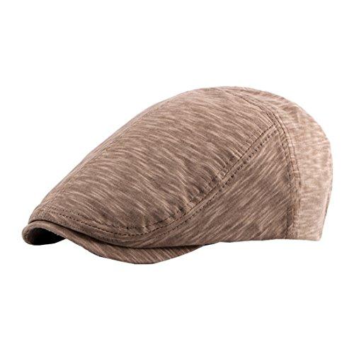 Homme Mélange Visière Acvip Casual Kaki De Femme En Réglable Coton Chapeau Casquette Plate pqnxBPwqSd