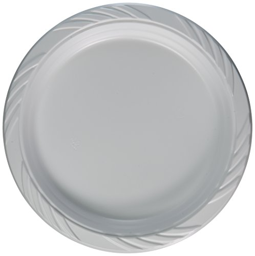Blue Sky 241 100 Count Disposable Plastic Plates, 9-Inch, -