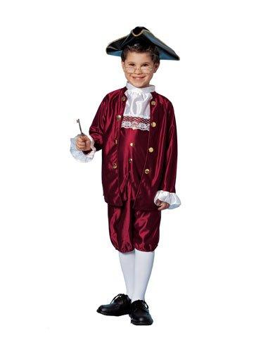 [Ben Franklin Costume (Medium)] (Ben Franklin Costumes Child)