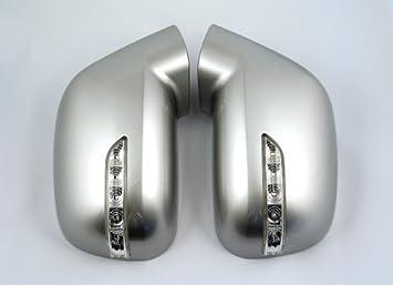 Accesorios para Chevrolet Orlando Espejo caja con LED Intermitente plata (Gan) Espejo Tuning Chasis Mirror: Amazon.es: Coche y moto